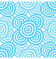 background - cyan rings vector image vector image
