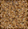 Brown color hexagon pattern background vector image vector image