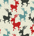Christmas pattern background design vector image vector image