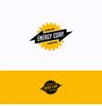 energy corp logo vector image