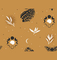 hand drawn abstract flat stock graphic icon vector image vector image