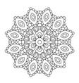 mandala in ethnic oriental style decorative vector image vector image