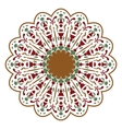 Mandala or circular floral pattern vector image vector image