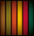 multicolored wood background design vector image vector image