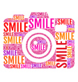 photo camera smile vector image