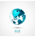 Blue Globe vector image