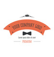 business logo corporate identity in retro style vector image vector image