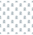 communication phone pattern seamless vector image vector image