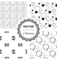 Ddoodle abstract pattern collection vector image vector image