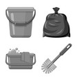 design of cleaning and service icon vector image vector image