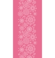 Folk pink floral circles texture abstract vertical vector image vector image