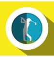 Golf icon design vector image vector image