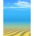 Undersea vector image vector image
