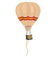 aeronautic balloon vector image vector image