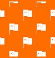 china flag pattern seamless vector image