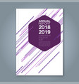cover annual report 945 vector image vector image