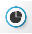 diagram icon symbol premium quality isolated pie vector image