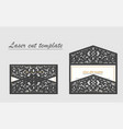 digital file for laser cutting the vector image vector image