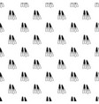 flippers pattern seamless vector image