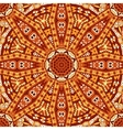 Geometric seamless indian autumn pattern vector image vector image
