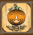 halloween image design template vector image vector image