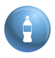 plastic bottle icon simple style vector image vector image