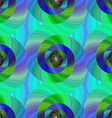 Seamless abstract psychedelic spiral background vector image vector image