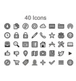Social media icons image - 40 tool pack
