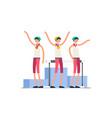 summer games hurdles symbol vector image vector image