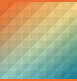background-colorful-square-orange-blue vector image