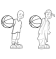 Basketball Teen vector image vector image