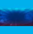 blue bright background vector image vector image