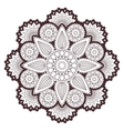 Henna paisley mehndi tattoo doodle seamless vector image vector image