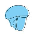 man wearing helmet icon image vector image vector image