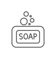 soap related thin line icon vector image vector image