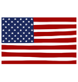 America USA stars and stripes flag stylized vector image