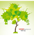 Abstract green background eps10 vector image vector image