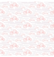 Baby seamless pattern Pastel pink fun vector image vector image