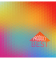 bright abstract mosaic background vector image vector image