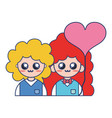 couple together with relationships romance and vector image vector image