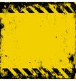 hazard vector image vector image