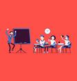 school bad behaviour vector image vector image
