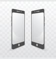 smart phone monochrome template vector image