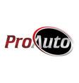 letter pro auto vector image