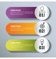 infographic templates business design vector image vector image