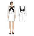 womens dress vector image