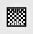 chess table online game app concept strategy game vector image vector image