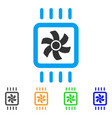 chip cooling icon vector image