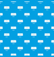 clutch bag pattern seamless blue vector image vector image