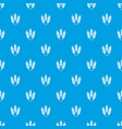 juicy wheat pattern seamless blue vector image vector image